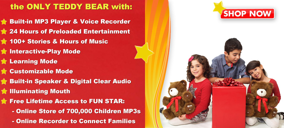 MP3 Player Bear